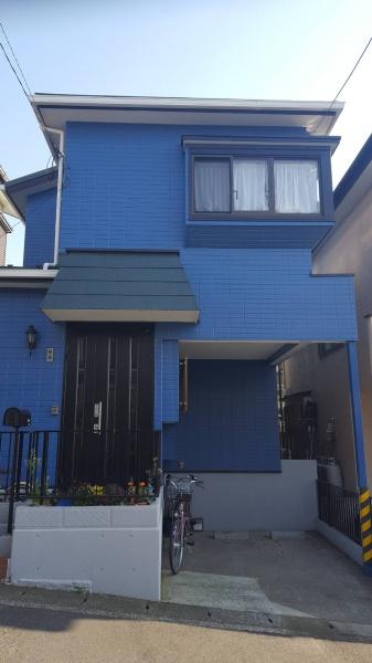 綾瀬市のS様邸で屋根吹き替え 外壁塗装