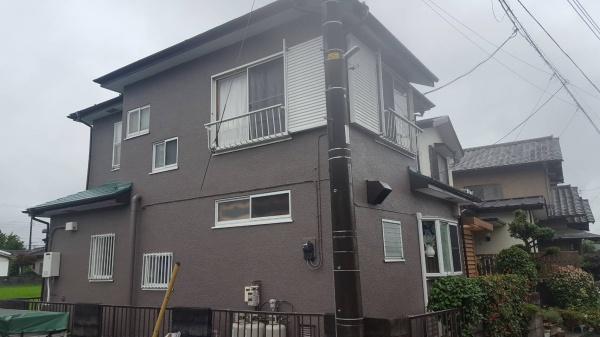 小田原市I様邸で屋根外壁シリコン塗装