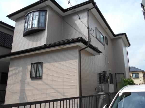 茅ヶ崎市N様邸屋根外壁塗装工事