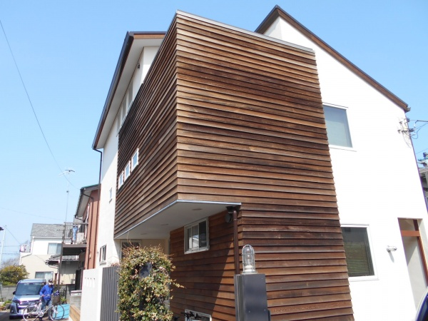 茅ヶ崎市S様邸外壁塗装工事