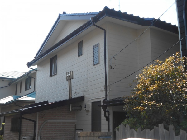 藤沢市M様邸外壁塗装工事