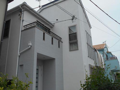 茅ヶ崎市M様邸外壁塗装工事